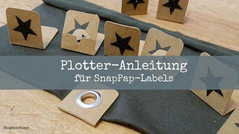 [Plotter-Anleitung] SnapPap-Labels zum wenden. (Blog ohne Namen)