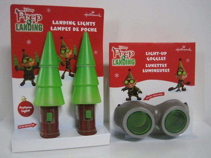 Hallmark Prep And Landing Christmas Children S Goggles Landing