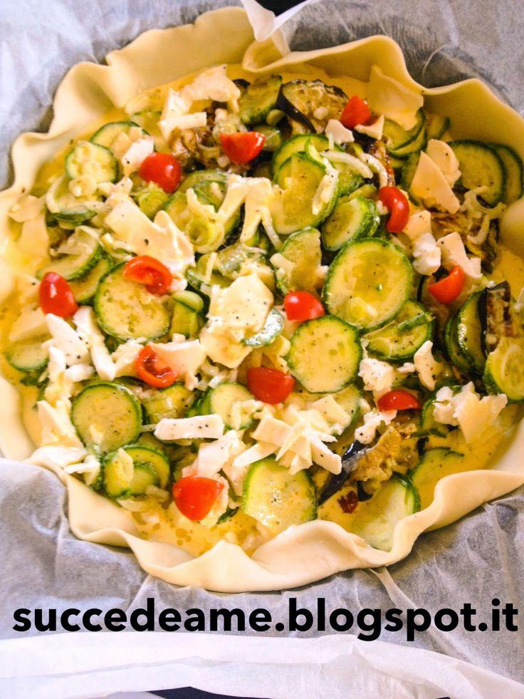 quiche di verdure estive