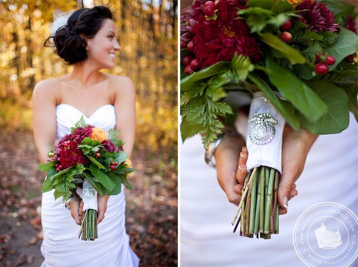 Fall Bouquet by #InCarnations, #Wedding.    www.incarnationsdesign@teksavvy.com
