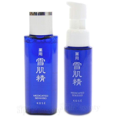 Kose-Japan-Medicated-SEKKISEI-Lotion-Toner-24ml-8oz-Emulsion-20ml-67oz