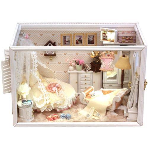 DIY-Wooden-Dolls-house-Miniature-Model-Kit-w-LED-Light-Musician-Home-Music