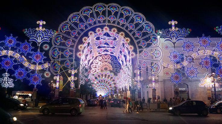 Bitonto, Italia. Festa della Madonna dell'Immacolata Concezione Pic by Lucille Limoncello