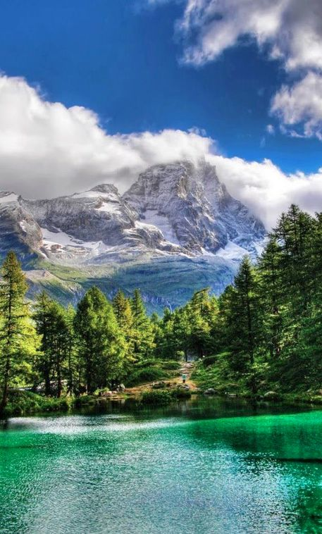 Blue Lake ~ Valle d'Aosta, Italy