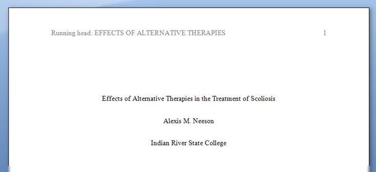 apa dissertation title page
