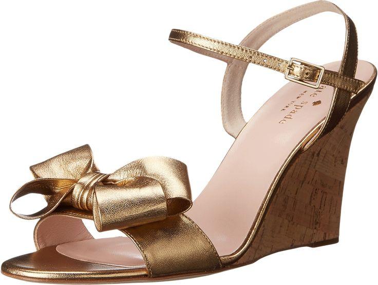 Kate Spade New York Iballa Old Gold Metallic NappaGold