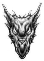 Image result for Evil Demon Coloring Pages | Goldfish ...