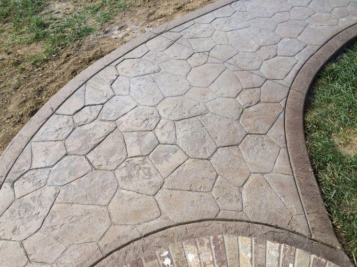 как сделать декоративный бетон