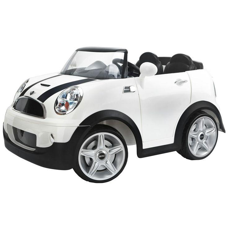 costco uk kid trax mini cooper s 12v ride on 3 years mini cooper pinterest