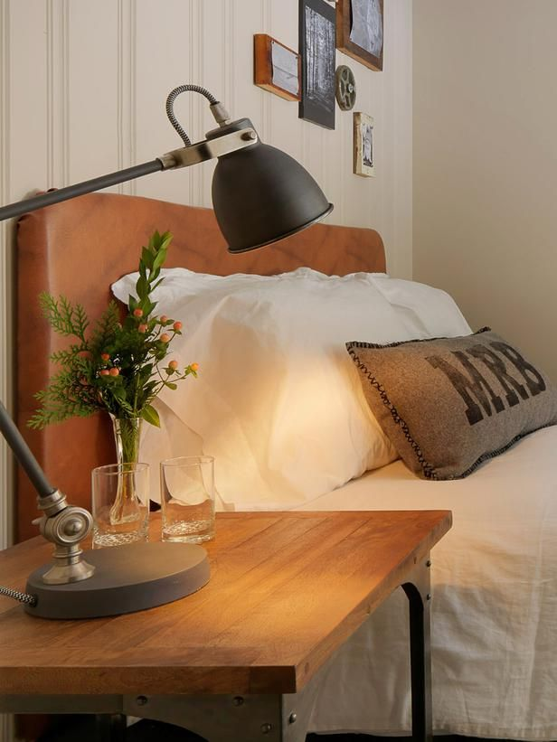 How To Make a Faux-Leather Headboard