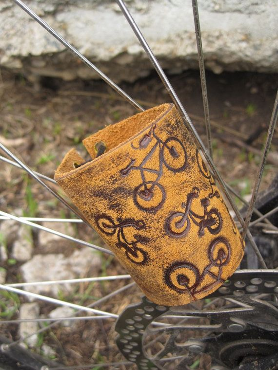 Leather cuff bracelet Bicycle, leather  bracelet, leather bracelet for women, leather men bracelet, кожаный браслет