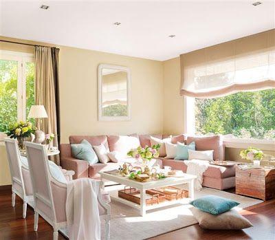 EV DEKORASYON HOBİ: Oturma odasında renk seçimi