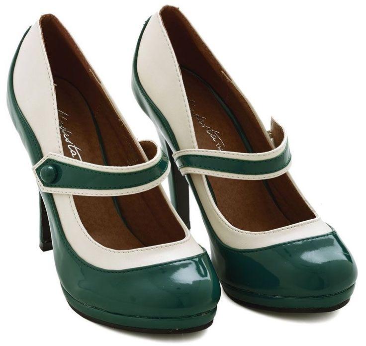 'S Marvelous Heel in Green