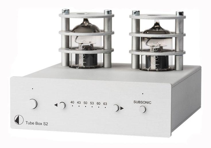 Pro-Ject Tube Box S2 | Phono-Vorverstärker, Farbe: silber