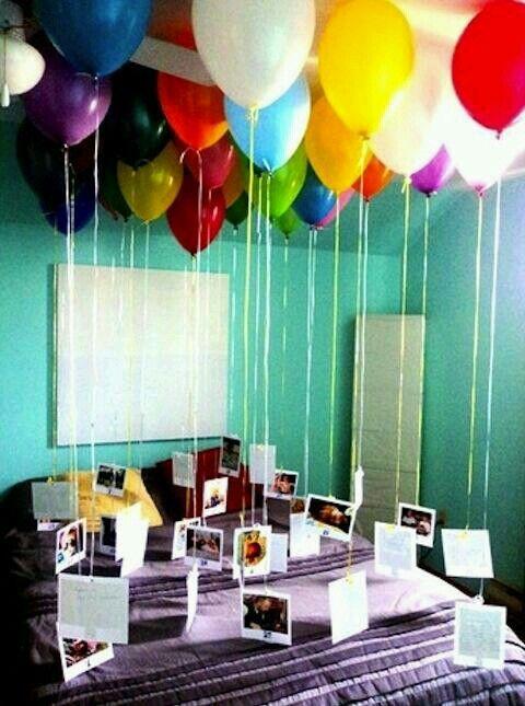 Anniversary suprise