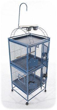 A&E Bird Parrot Cage Double Stack 24X22 #parrotcagediy #parrotcageideas