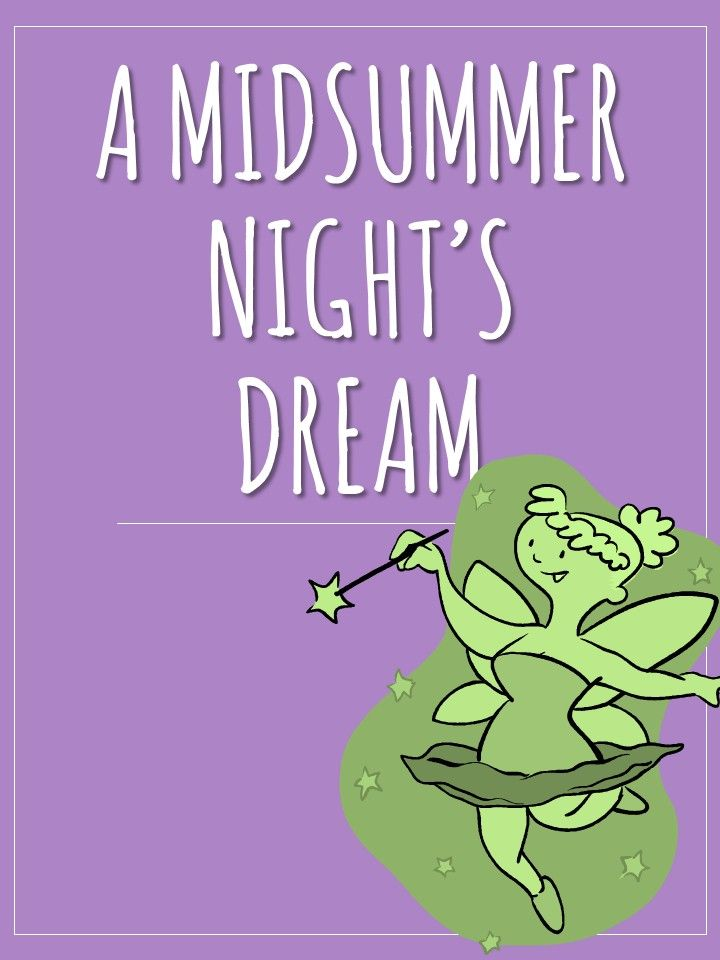 Teaching A Midsummer Night's Dream in your English class? Use this printable workbook with your students.
