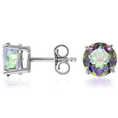SOLD OUT Mystic Topaz Sterling Silver Earrings