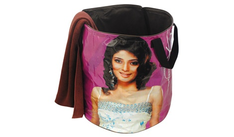 Bollywood Laundry Basket - Strong and roomy - $30