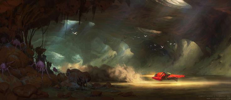 Story Moment (Conceptverse: Mooeti), Artur Sadlos on ArtStation at https://www.artstation.com/artwork/gOXOQ