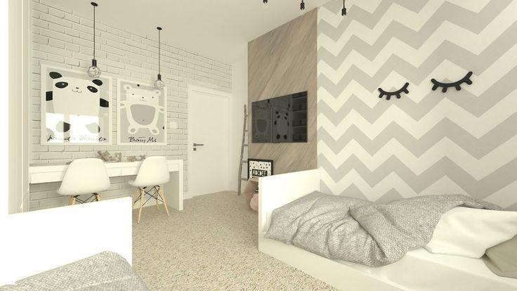 Pokój dziecka styl Nowoczesny - zdjęcie od Am Design Studio projektowania wnętrz - Pokój dziecka - Styl Nowoczesny - Am Design Studio projektowania wnętrz