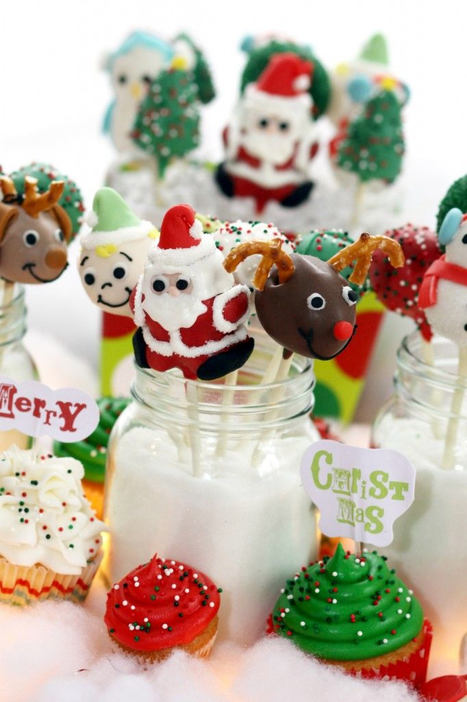 Cake Pop Decorating Christmas : 17 Best images about Christmas Cake Pops & Tutorials on ...