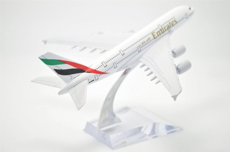 TANG DYNAST 1:400 16cm Air Bus A380 Emirates Airlines Metal Airplane Model Plane Toy Plane Model