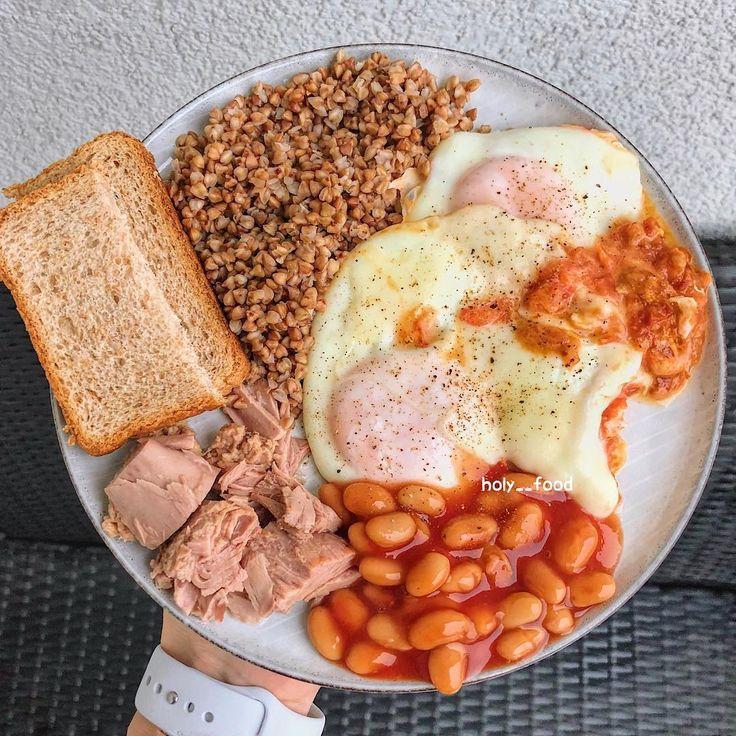 Завтрак Человека На Диете.