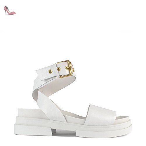 Ash Chaussures Scream Sandales Blanc Femme 37 EU Blanc JLdTXWxaJ