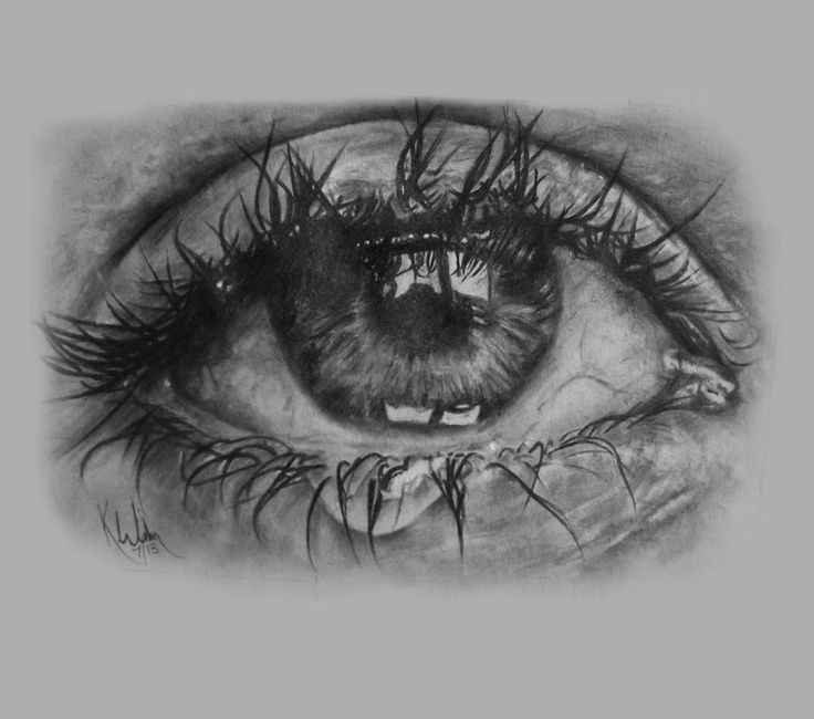 Pencil Sketches Of Crying Faces - Anipapper