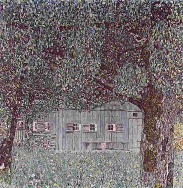 Фермерский дом в верхней Австрии 1911-12. Густав Климт