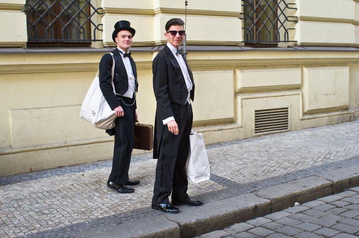 Say Hello from Karolina Svetla street, Praha!
