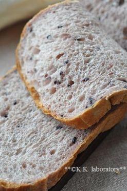 「北海道産有機強力粉と赤米のもちふわ食パン」nonnon   お菓子・パンのレシピや作り方【corecle*コレクル】