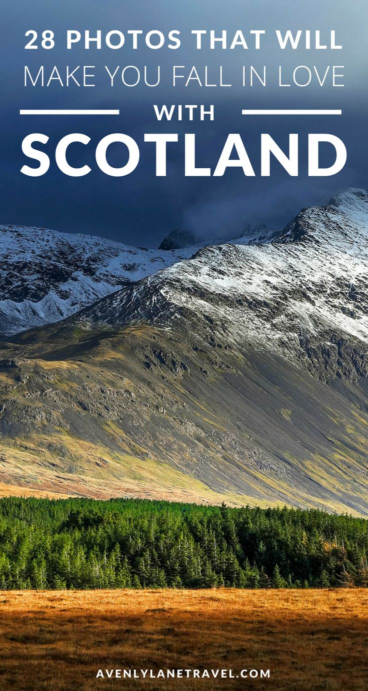 28 Mind Blowing Photos of Scotland | Top things to see in Scotland | Avenly Lane Travel
