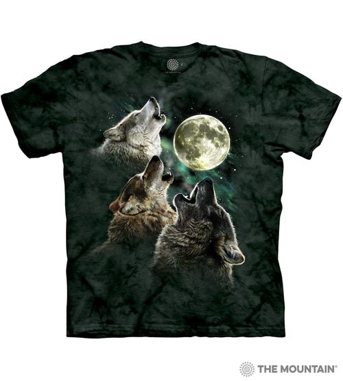 0880c3e4bf3 The Mountain Adult Unisex T-Shirt - Three Wolf Moon Classic