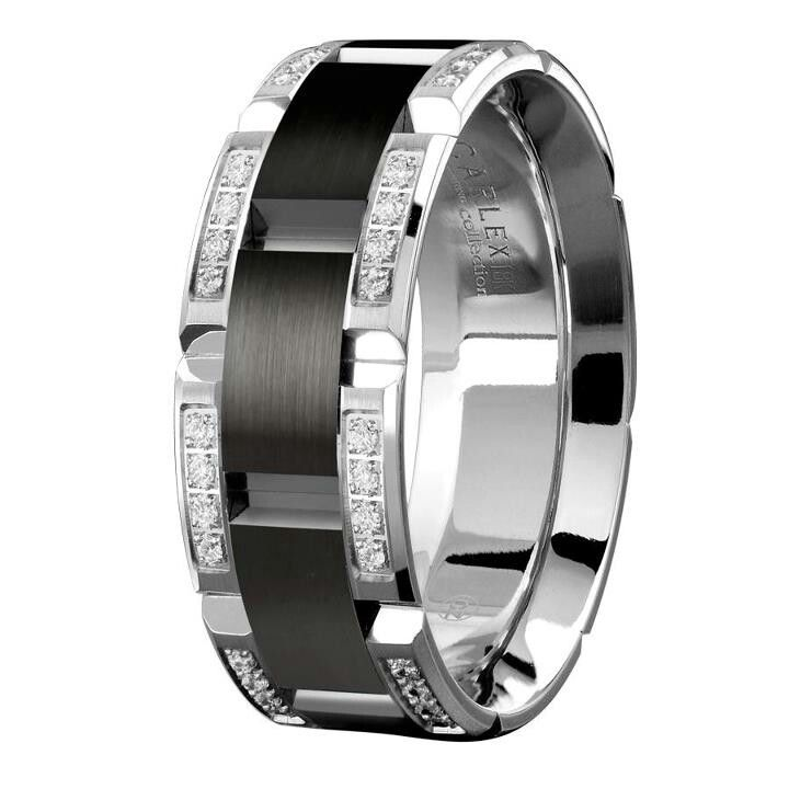 Mens wedding band #MensWeddingRing #MensWeddingBand #MansRing