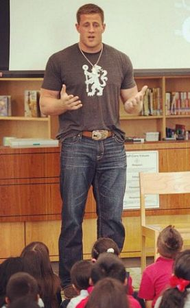 Nothing sexier than a man talking to kids :)