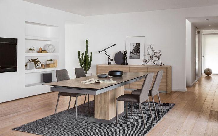 SINCRO Calligaris: il tavolo super allungabile. #arredamento #homeidea #casa #calligaris #salerno #design