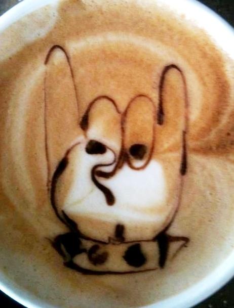 .·:*¨¨*:·. Coffee ♥ Art.·:*¨¨*:·. I ♥ you sign language