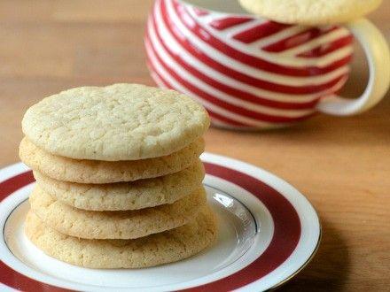 Eggnog Sugar Cookies | Baking Bites