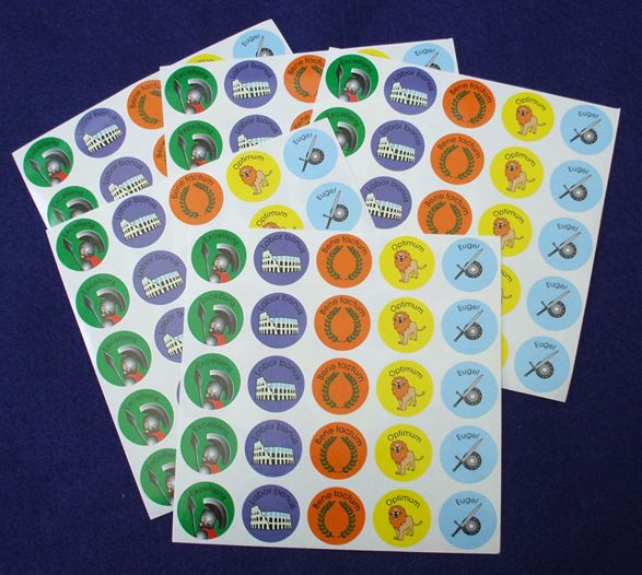 Awesome Roman Stickers 125 Stickers for $5.95