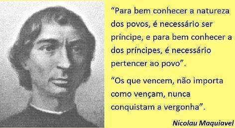 EDGAR RIBEIRO - O melhor conteúdo.: Maquiavel e o sistema politico brasileiro.