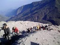 Jalur atau Rute Pendakian Danau Ranu Kumbolo Dan Gunung Semeru