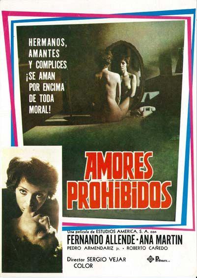 """Amores prohibidos (1976) """"El pacto"""" de Sergio Véjar - tt0329480"""
