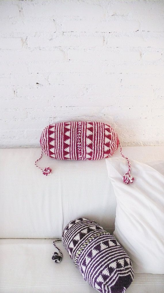 RESERVED Pillow Crochet Marrakech    Pink by lacasadecoto on Etsy, €26.00