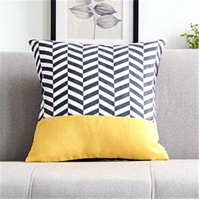 RUBI geometrische kussen zonder innerlijke blauw decoratieve kussens sofa terug interieur thuis textiel geschenken cojines