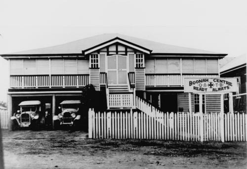 The Center of Boonah taken in 1934. Caleb
