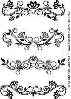 patterns for piping royal icing - Google Search                                                                                                                                                                                 More