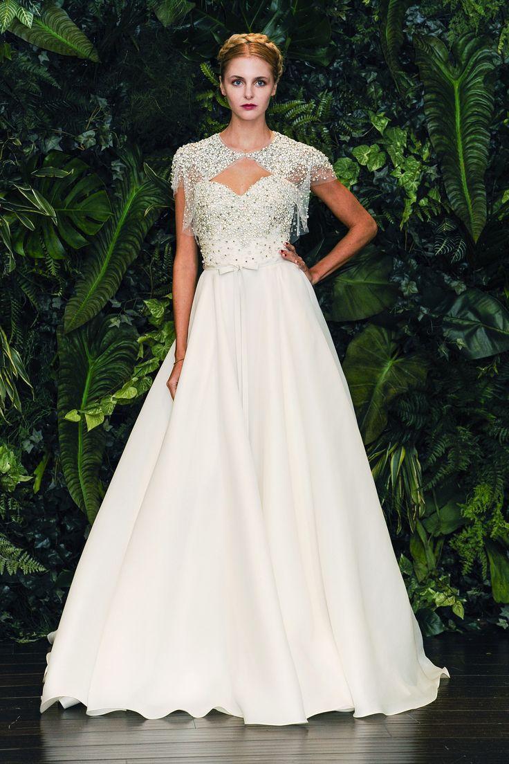 Vestido de novia de la firma Naeem Khan colección Otoño - Invierno 2014/2015.