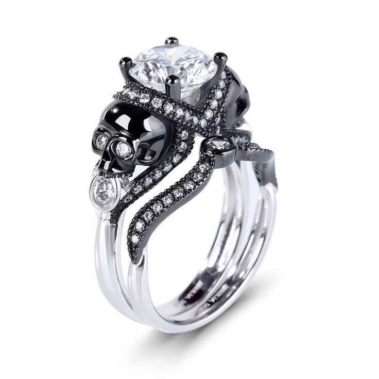 Gothic (Medieval) Wedding Rings | Gothic jewelry rings ...